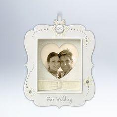 Our Wedding 2012 Hallmark Ornament