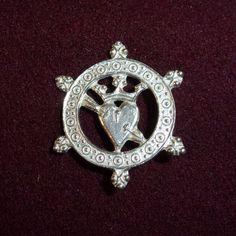 Zinnabzeichen Larp, Zinn, Brooch, Jewelry, Accessories, Badge, Figurine, Jewlery, Jewerly