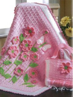 precious crochet designs for baby... what a gift this would be!!!  GORGEOUS!!!!!