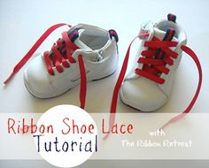 Ribbon Shoe Laces