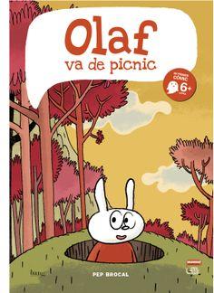"""Nuestras recomendaciones para el #DiadelLibro : Los #comics de Pep #Brocal editados en la Colección #Mamut: """"El pequeño Olaf"""" y """"Olaf va de picnic"""" #SantJordi2014"""