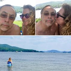 So #beautiful here today @lakegeorgephotos @lakegeorge_ny @lakegeorgeimages with my #groom of a couple of decades.