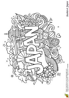 Japan coloring pages to download and print for free | Destination ...