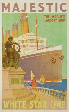 White Star Line ~ W.J. Aylward
