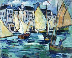Le Havre - Le Grande Quai - Maurice de Vlaminck.
