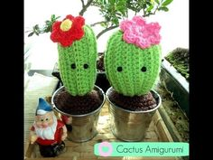 Amigurumi: pattern gratuiti per piante grasse | CactusFollia