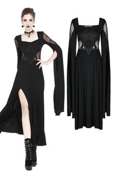 Punk Dress, Gothic Dress, Gothic Outfits, Gothic Lolita, Gothic Girls, Dark Fashion, Gothic Fashion, Fashion Beauty, Steampunk Fashion