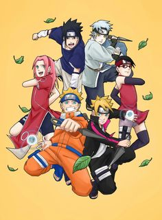 Team 7 & Team Konohamaru. Two different generation. What    should we expect form Boruto's generation?