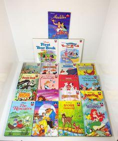 Lot Of 19 Disney's Wonderful World Of Reading Hardcover Books