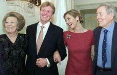 Queen Beatrix Prince Willem-Alexander, Maxima & Prince Claus.