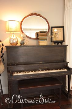 I would love an old piano