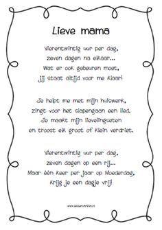 Gedicht Super Mama Google Zoeken Spreuken En Gedichten