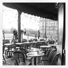 Paris Cafe on Ile St Louis #cafeculture by kcovophoto, via Flickr