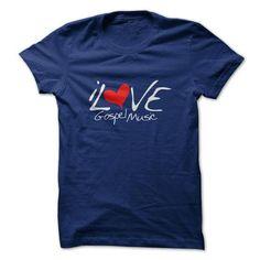 I Love Gospel Music T Shirts, Hoodies. Check price ==► https://www.sunfrog.com/Music/I-Love-Gospel-Music.html?41382 $20