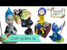 [Fimora Art] ... Craft Update Nr. 06 ... Polymer Clay Creations - YouTube