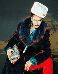 Nikolay Biryukov Captures Illustrative Style for Interview Russias November Issue
