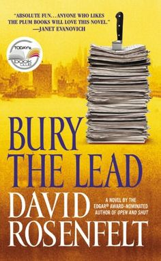 """Bury the Lead (Andy Carpenter Series #3)"" by David Rosenfelt"