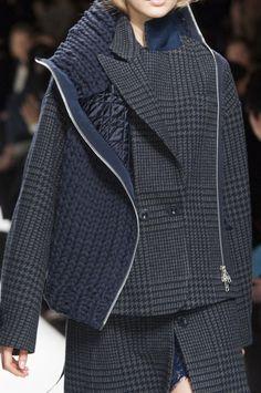 Sacai at Paris Fashion Week Fall 2014 - StyleBistro