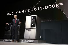 Knock knock! Learn all about #LGSIGNATURE http://www.lg.com/us/ces. #LGCES #CES2016