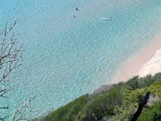 Clear water near Villa I Pini!   This is Santa Margherita!  Discover beachea and culture in Sardinia: http://en.luxuryholidaysinsardinia.com/villas-for-holidays-in-sardinia/sardegna  #sardinia #travel #holidays #paradise #sea #clearwater #sand #nature