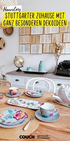In Sachen Deko machen wir ihr so schnell nichts nach! interioray_ ist bei der Gestaltung ihrer vier Wände besonders kreativ und begeistert uns immer wieder mit neuen Dekoideen! #dekorieren #dekoideen #esszimmer #wandgestaltung #einrichten #einrichtungsideen #COUCHstyle New Kitchen Doors, Hydrangea Seeds, Ikea Regal, Kitchen Lighting Fixtures, Blinds For Windows, Dream Bedroom, Linen Bedding, Bed Sheets, Blog