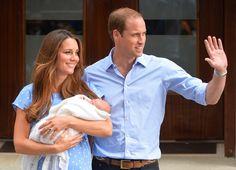 Kate Middleton et le prince William sont les heureux parents d'un petit George