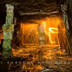 Steel wool spinning 2