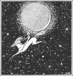 The Golden Age: Dorothy Lathrop ~ 1891-1980 ~ Down-Adown~Derry by Walter De La Mare ~ 1922