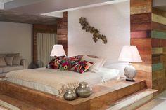 Vejam lindos quartos com camas de Tatami.