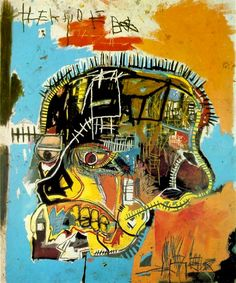 Jean-Michel Basquiat, Untitled, Acrylic and mixed media on canvas, 81 x in. Jean-Michel Basquiat Estate / Artists Rights Society Jm Basquiat, Basquiat Artist, Basquiat Prints, Andy Warhol, Graffiti Art, Jean Michel Basquiat Art, Basquiat Paintings, Neo Expressionism, Street Art