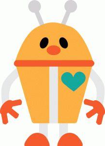 Silhouette Online Store - View Design #62155: robot