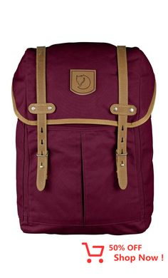 CLASSIC: The Rucksack No. 21 is a classic Fjallraven backpack that's perfect for everyday use in town and time spent in the woods.