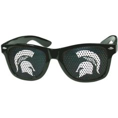 Michigan State Spartans Game Day Retro Sunglasses