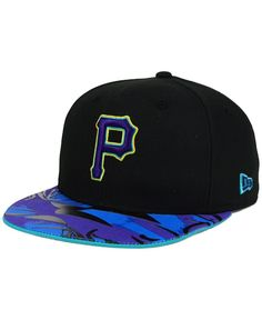 New Era Pittsburgh Pirates Aqua Hook Vize 9FIFTY Snapback Cap