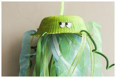 Kids Activities - Jellyfish Mobile - BabbaCo