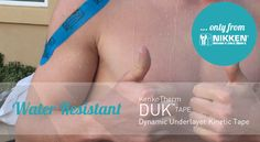 Dynamic Underlayer Kinetic Tape DUK Tape is the only kinetic tape with Nikken Far-Infrared and Negative-Ion Technology! KenkoTherm DUK Tape comforts stressed muscles and joints and promotes greater freedom of movement, while it produces warmth from natural energy and refreshing negative ions.  Shop it now.