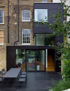 love this home extension! glass extension