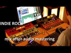 Audio Mastering Samples. Online Mastering Studio, London