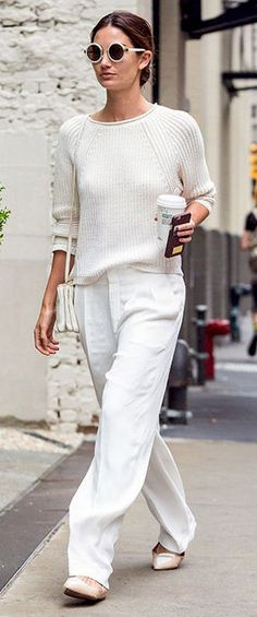 45 Fashionable All White Outfits For Any Season Worth Copying