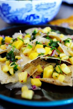 Pineapple Mango Pico de Gallo