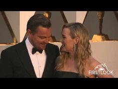 Kate Winslet and Leonardo DiCaprio Reunite at the 2016 Oscars #JAckAndKateForever - YouTube