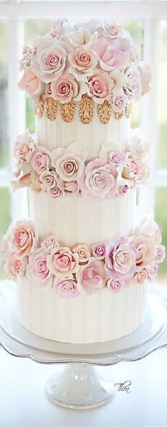Rose cake. #wedding #bridal #cakes