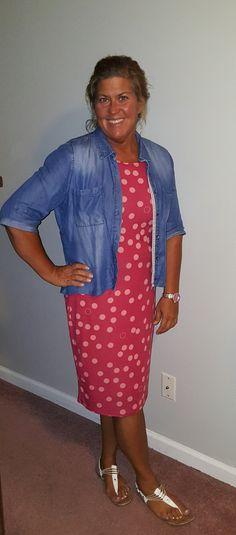 Lularoe- Julia dress  I'm obsessed with Lularoe!!!