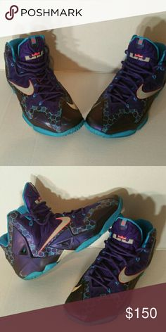 Selling this Nike LeBron XI on Poshmark! My username is: Jordan Shoes For Sale, Nike Lebron, Username, Cleats, Nike Men, Jordans, Man Shop, Purple, Sneakers