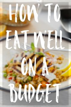 Top tips for eating well on a budget. I firmly believe that eating well doesn't have to be expensive.  I've learned a few tricks over the years that really help me to create tasty, nutritious meals for the family without breaking the bank.  Here are my top tips for eating well on a budget.