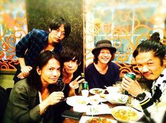 [Alexandros]2015/7/11「Japan Night! 2015 」ロンドンの夜 A night in London. I was drinking with [Alexandros]
