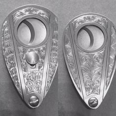 Cigar cutter I hand engraved. $200 and at least 8 weeks lead time. Cigar Accessories, Smoke Art, Pipes And Cigars, Cigar Smoking, 8 Weeks, Cigar Cutter, Lead Time, Hand Engraving, Sticks