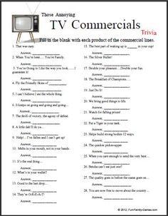 how to write a tv jingle trivia