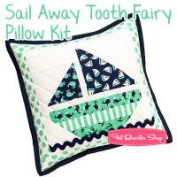 Sail Away Tooth Fairy Pillow KitFeaturing The Littles by Michael Miller Fabrics