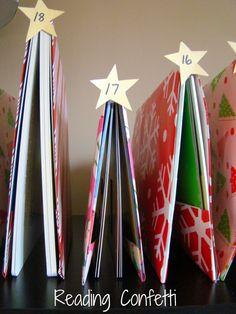 Book Tree Advent Calendar for Kids